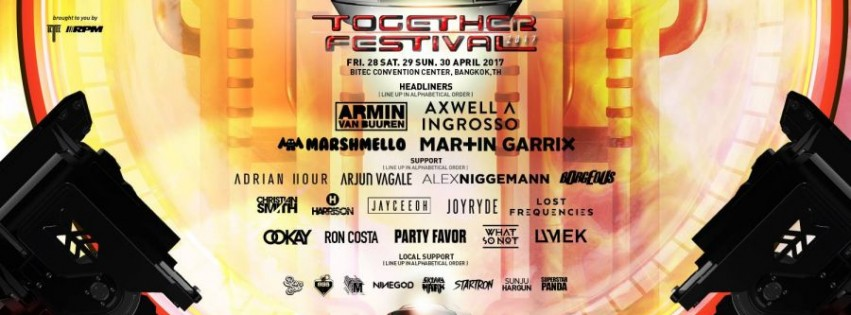 Together Festival 2017 | Siam2nite