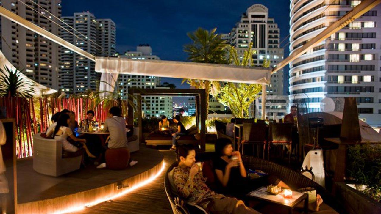 Nest Rooftop Lounge Bar Sukhumvit Bangkok Siam2nite