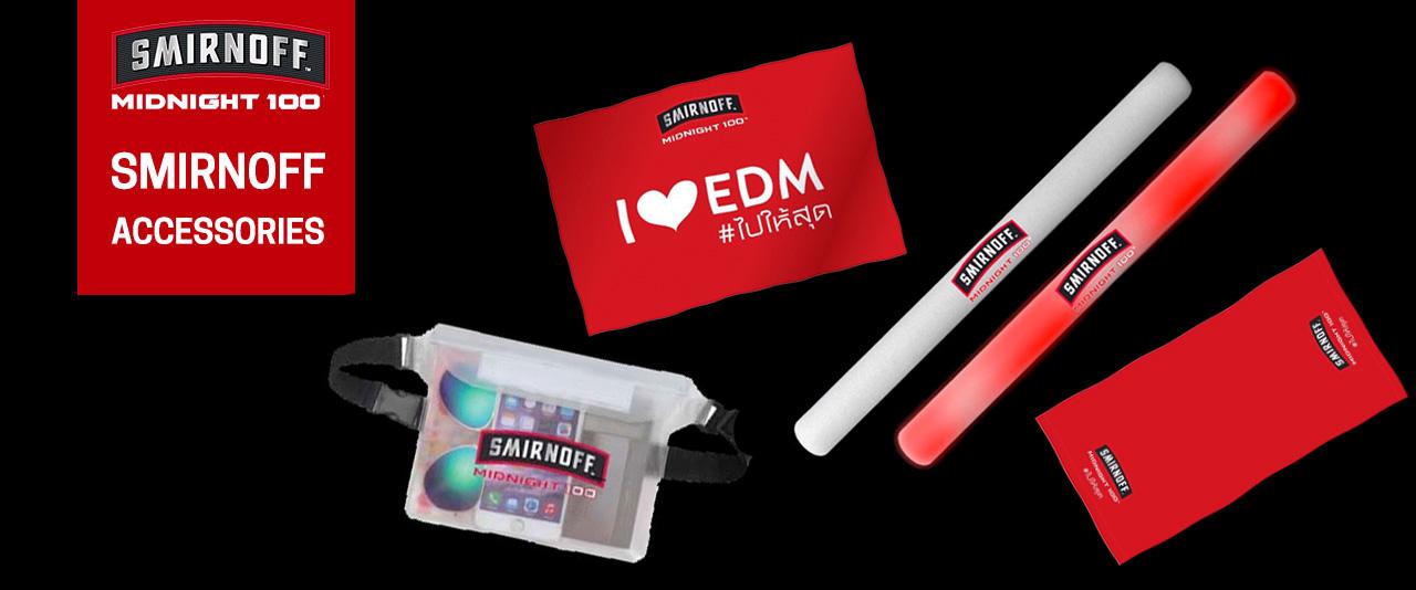 Smirnoff merchandise