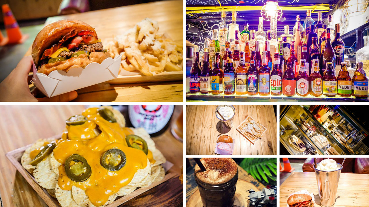 Game Over Loft Bangkok - Food and Drinks