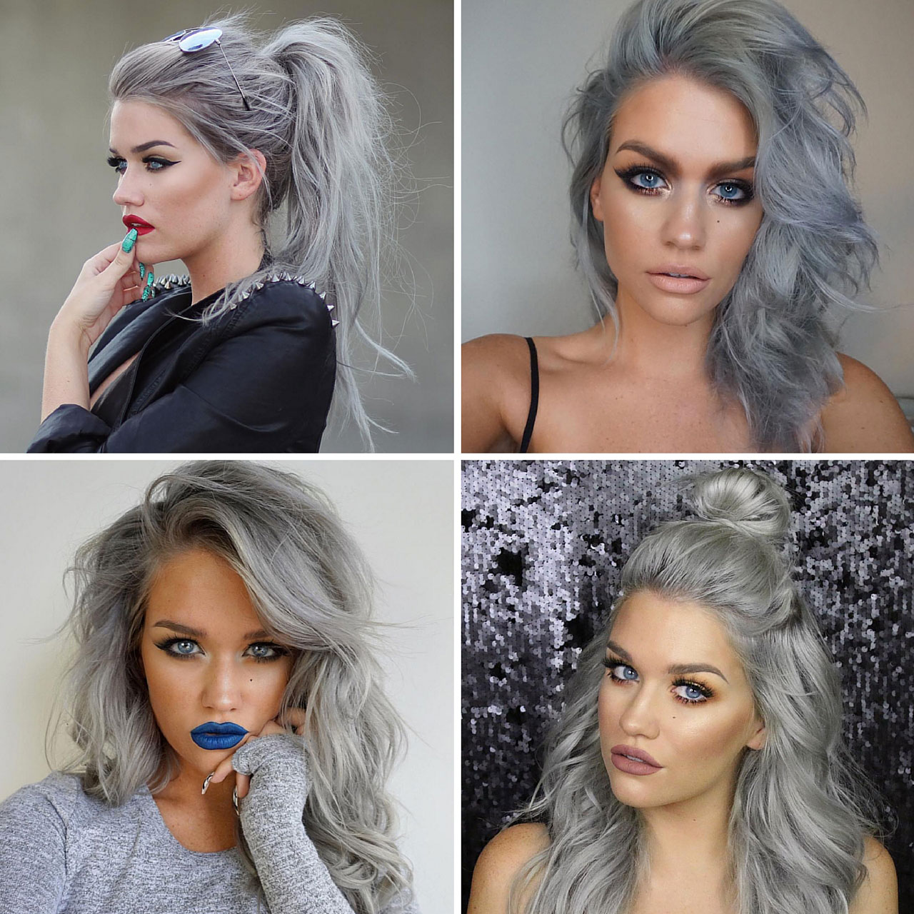 Silver Lining Fashion Book - Top 5 Hair Color Trends For 2016