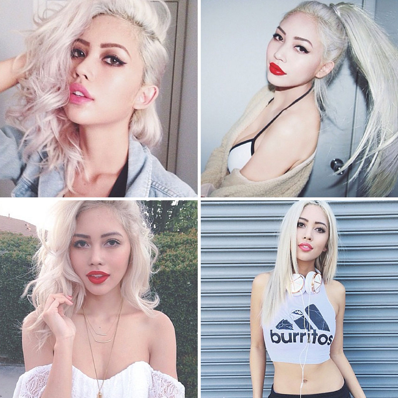 Pure White Blonde - Top 5 Hair Color Trends For 2016