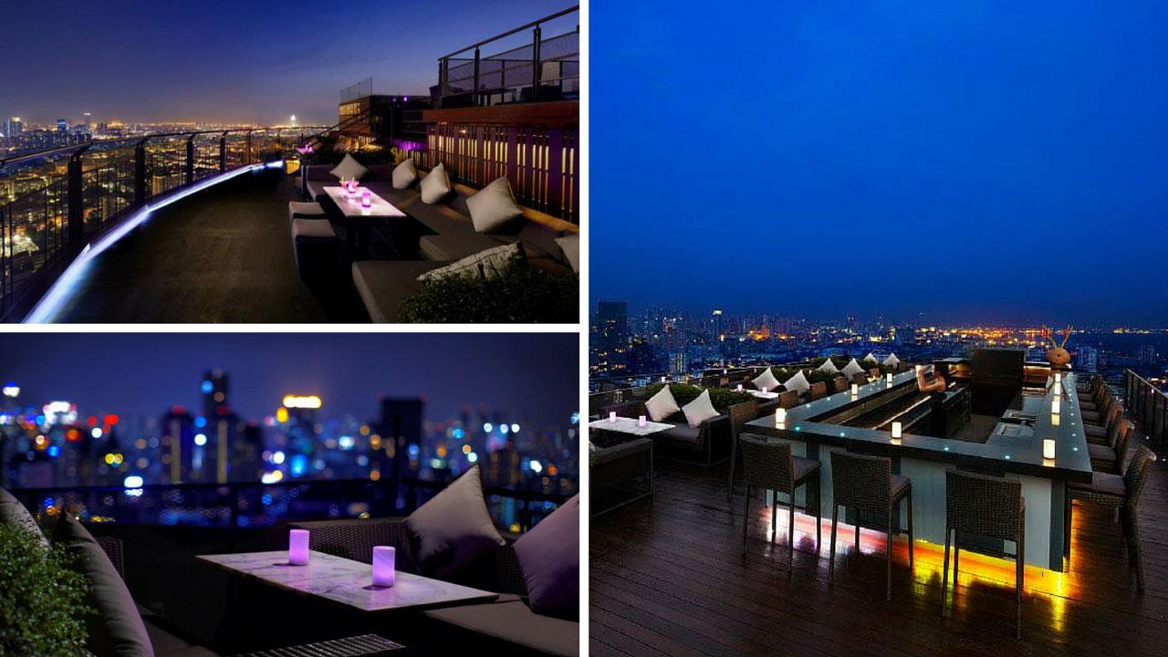 Zoom Skybar Rooftop at Anantara Sathorn Bangkok