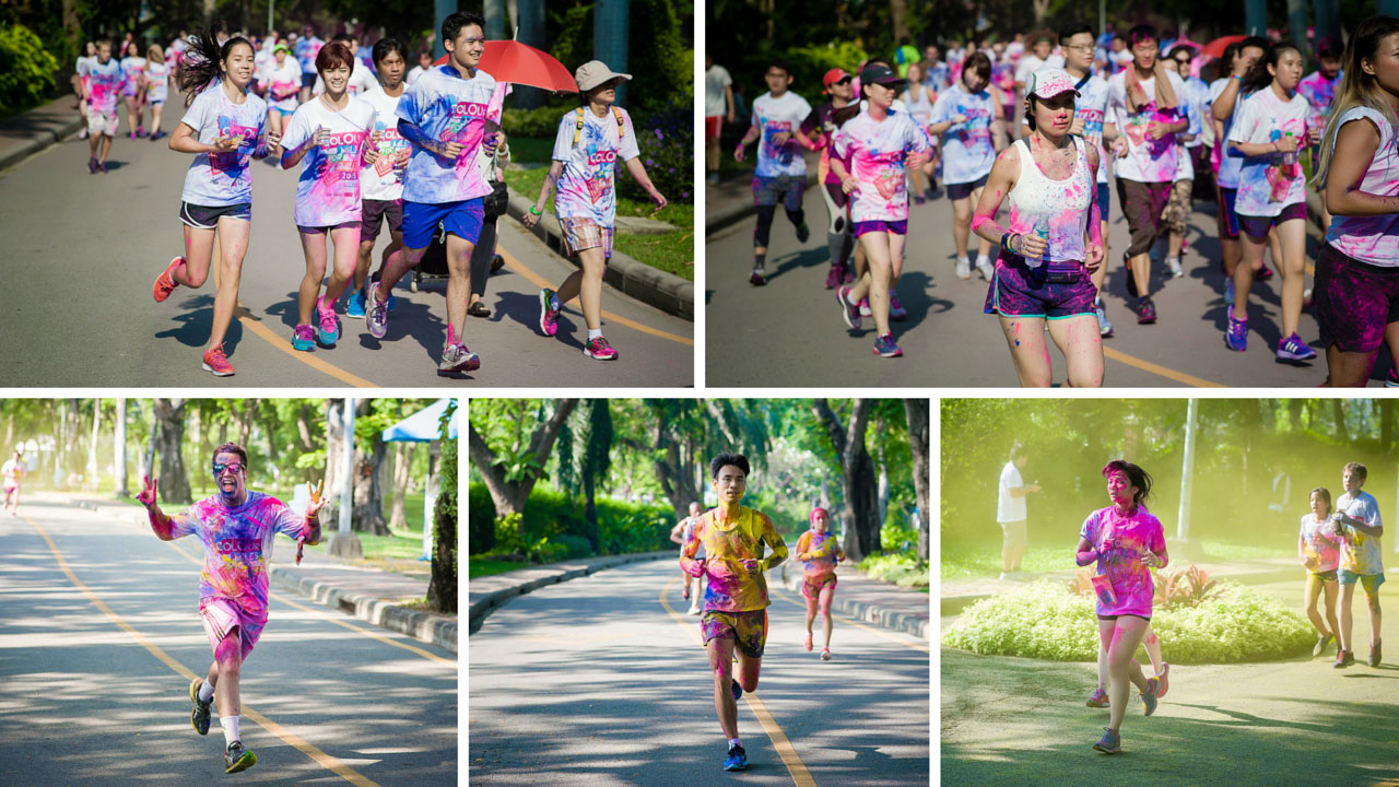 Colour Miles for Smiles 2016: The Neon Edition