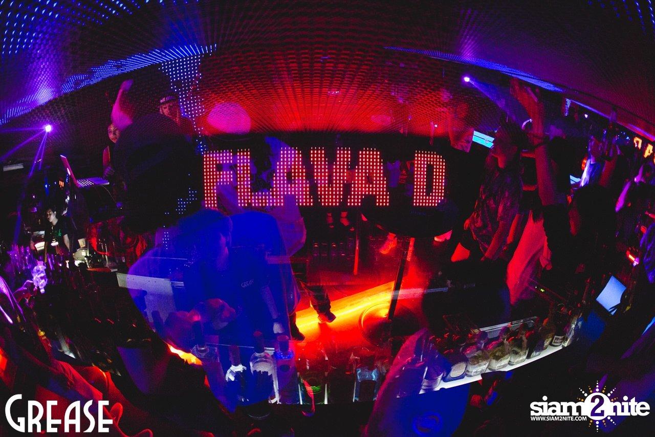 Flava D live at Dubway Sessions   Grease, Sukhumvit 49