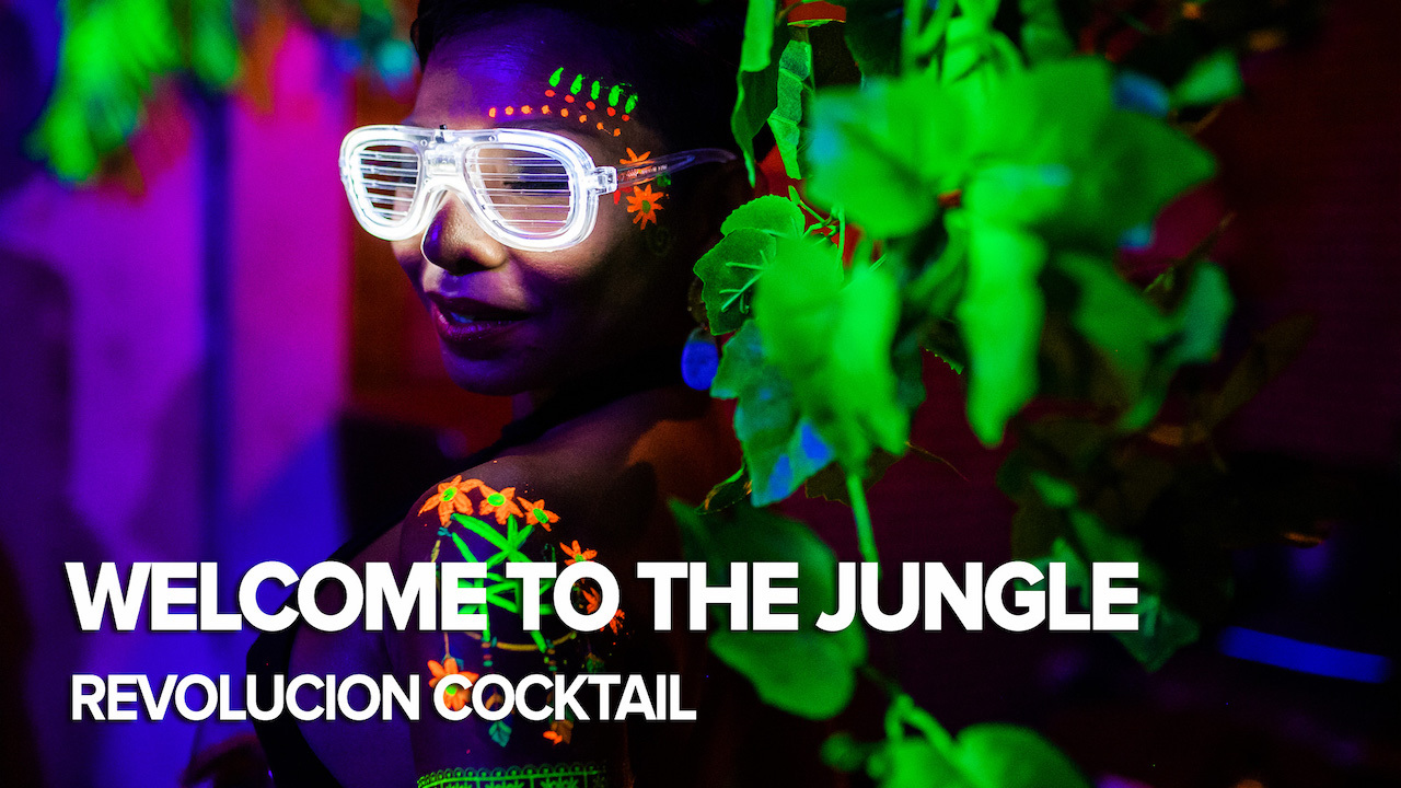 Welcome To The Jungle Party | Revolucion Cocktail | Siam2nite